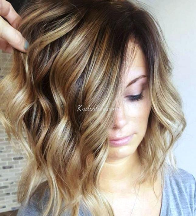 Işıltı Sarılar Röfle Saç Rengi Trendy Saç Modeli Kadinlivecom