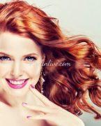 Kızıl Saç Makyajı İçin Öneriler